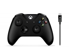 Геймпад Microsoft Xbox One S Wireless Controller Black, Черный