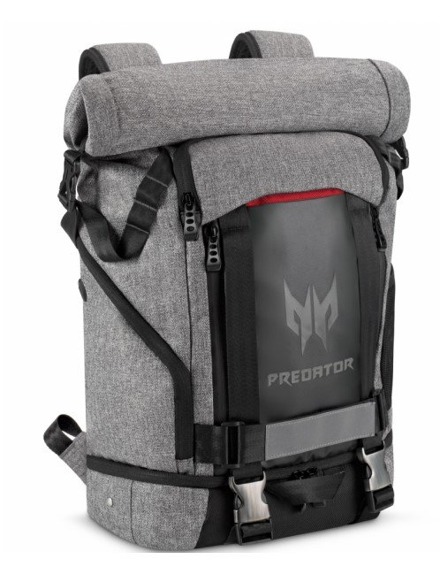 Рюкзак Acer Predator Gaming Rolltop Backpack (NP.BAG1A.255)
